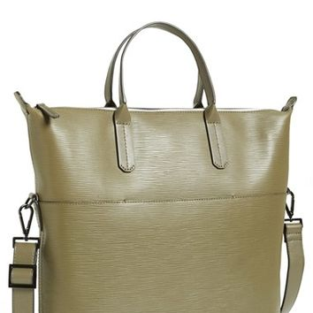Men's Ben Minkoff 'Viktor' Embossed Leather Tote