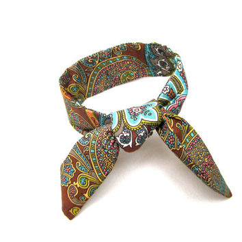 Cute Top Knot Tie Wired Hair Accessory for Buns or Pony Tails Mocha Blue Green Pink Bun Wire Wrap Wrist Wrap Womens Bun Wrap Teen Small Gift