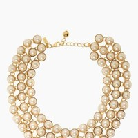 ready set pearl collar necklace - kate spade new york
