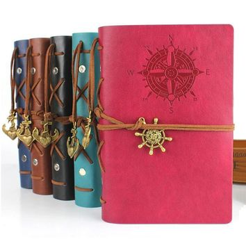 Vintage Notebook String Nautical journal diary Hardcover