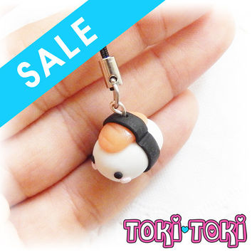 Sushi Onigiri Charm, Cute Charms,Kawaii Keychain, Kawaii Charm, Polymer Clay Charms, Food Gift, Cute Jewelry, Food Charms, Candy Charms