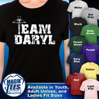 Team Daryl The Walking Dead T-Shirt