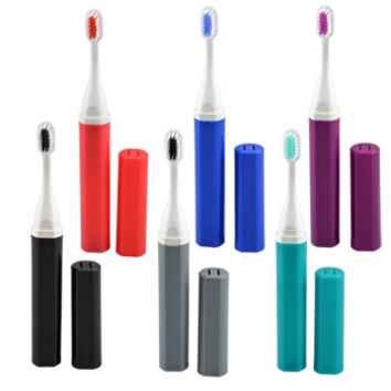Bulk GB Soft-Bristle Battery-Operated Travel Toothbrushes at DollarTree.com