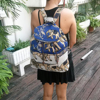 Elephant Tribal Woven Backpack Boho Hippie Indian Ethnic Rucksack Hipster Aztec Gypsy Shoulder Nepali Patterns Bags Hippie Purse Cross Body