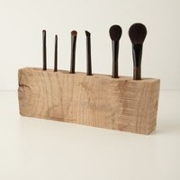 Tyler Kingston  Oakwood Makeup Brush Holder in Multi Size: One Size House & Home