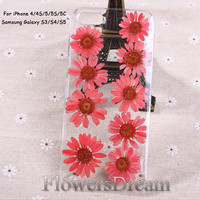 Phone cases, iPhone 5s case, iPhone 5c case, iPhone 5 case, iPhone 4s case, Galaxy S4 case, Galaxy S3 case, Real Flowers-098