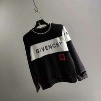 Givenchy 18 autumn outfit new embroidery logo stitching sweater 006