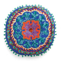 Karma Living Boho Lounging Round Pillow