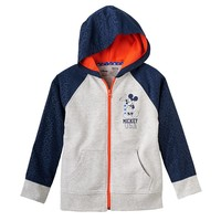 Disney's Mickey Mouse ''American Classic'' French Terry Full-Zip Hoodie by Jumping Beans - Toddler Boy, Size: