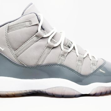 Beauty Ticks Air Jordan 11 Retro Cool Grey 2010 Gs Basketball Shoes