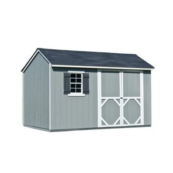 Shop Heartland Stratford Saltbox Engineered Wood Storage Shed (Common: 12-ft x 8-ft; Interior Dimensions: 11.71-ft x 8-ft) at Lowes.com