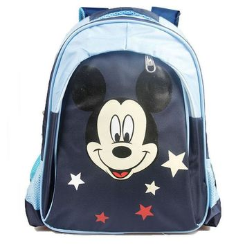 School Backpack 2018 New Style Children Mickey Bag Primary School Student Backpack Lovel School Bags for Boys and Girls Mochila Infantil AT_48_3