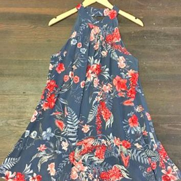 Move on Over Floral Print Dress