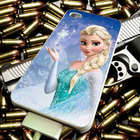 Frozen Elsa Cute for iPhone 4/4s/5/5s/5c/6/6 Plus Case, Samsung Galaxy S3/S4/S5/Note 3/4 Case, iPod 4/5 Case, HtC One M7 M8 and Nexus Case ***