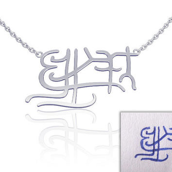 Signature Necklace -Handwriting necklace, name necklace, memorial jewelry, handwriting jewelry