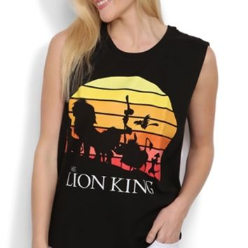 Disney Lion King Tunic Tank Top with High Low Hem