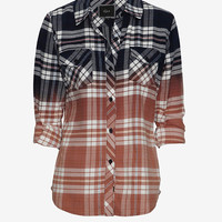 Rails EXCLUSIVE Ombre Plaid Pattern Shirt-All Tops-Tops-Clothing-Categories- IntermixOnline.com