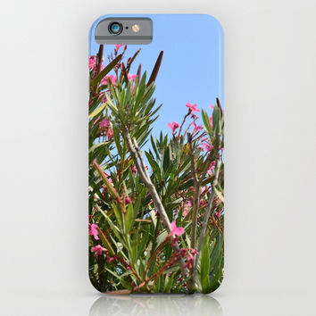 July flowers iPhone & iPod Case by ArtGenerations