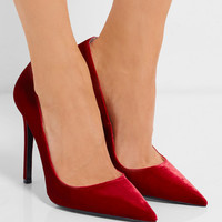Prada - Velvet pumps
