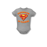 Superman In Training Infant Onesuit