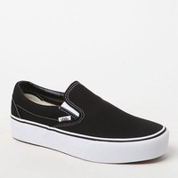 DCCKJH6 Vans Women's Slip-On Platform Sneakers