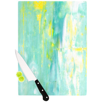 "CarolLynn Tice ""Spring Forward"" Green Cutting Board"