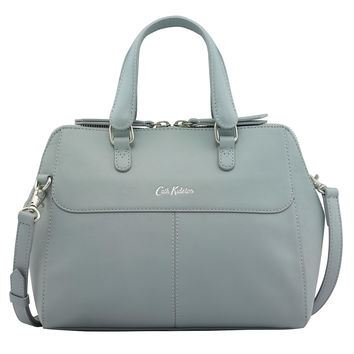 Seafoam Blue Henshall Leather Bag | Leather Bags | CathKidston