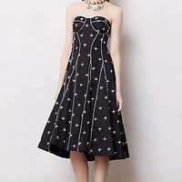 NWT ANTHROPOLOGIE by FLOREAT JEWELED DRAGONFLY DRESS 4