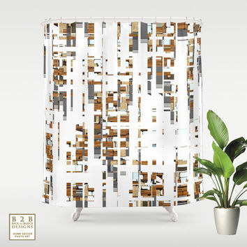 Contemporary Chaos IV, Shower Curtain