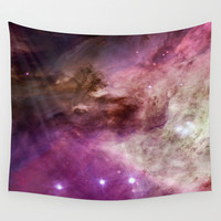 Space I Wall Tapestry by Aloke Design