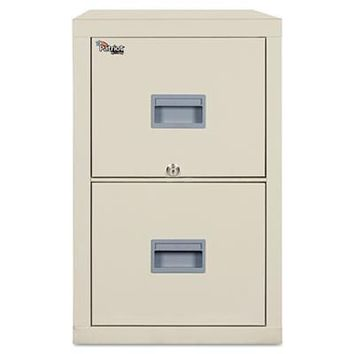 FireKing FIR-2P1831CBL File Cabinets Patriot Insulated Two-Drawer Fire File - 1 Count