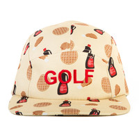 CHICKEN N WAFFLES CAMP HAT BEIGE – golfwang