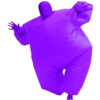 Inflatable Adult Chub Suit Costume (Purple)