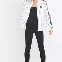 adidas Originals Pinstriped Track Jacket Top - Urban Outfitters