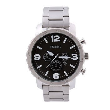 FOSSIIL fashion ladies / men's watches F-PS-XSDZBSH White + black face
