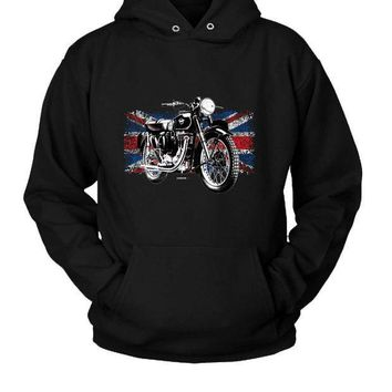 ICIKL83 Matchless Motorcycle Hoodie Two Sided