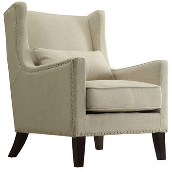 Kingstown Home Jeannette Wingback Arm Chair & Reviews | Wayfair