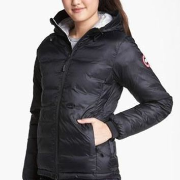 Women's Canada Goose 'camp' Slim Fit Hooded Down Jacket| Best Deal Online
