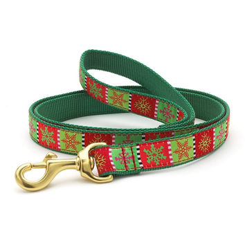 Let it Snow Dog Leash