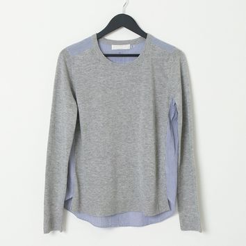 Another Ordinary Day Sweater Top - Gray