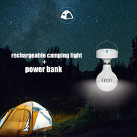 Rechargeable LED Outdoor Camping Light for TentsPortable USB Camping Lantern ...