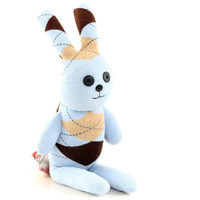 Stuffed Easter Bunny Stuffed Animal Cute Plush Toy Bunny Kawaii Plushie Bunny the Snuggly Cuddly sock Toy (F) 1# Ready to Ship