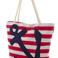 Nautical Anchor Tote Bag (2 Colors Available)