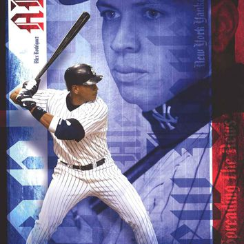 Alex Rodriguez New York Yankees Poster 22x34