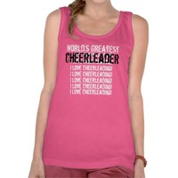 World's Greatest CHEERLEADER T Shirts