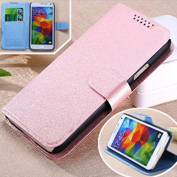 PU Leather Covers Case For Casper Via A1 Mobile Phone shell Registered