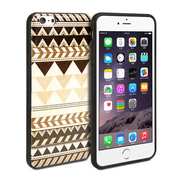 Snap Cover Coated (Tribal Pattern) for iPhone 6 Plus
