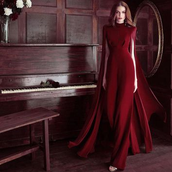 ADYCE 2018 New Summer Women Runway Jumpsuits Elegant Rompers Black Red Lace Long Sleeve Jumpsuit Sexy Bodycon Bodysuits Vestidos