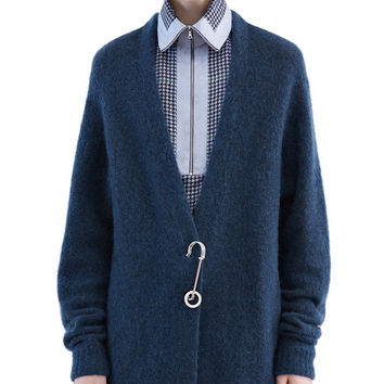 Acne Studios - Raya sh mohair dusty blue