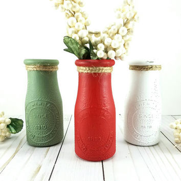 Shop Decorative Milk Bottles On Wanelo